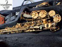ياناجيساوا A-992 جودة عالية العلامة التجارية الجديدة ألتو ساكسفون الفضة تصفيح الذهب مفتاح المهنية ساكس لسان الحال مع حالة شحن