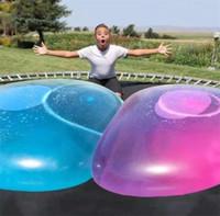 놀라운 버블 공 재미 있은 장난감 어린이를위한 물이 가득 TPR 풍선 성인 야외 버블 풍선 공 풍선 장난감 파티 장식