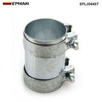 """EPMAN- Nuovo connettore da 2,5 """"per tubo di scarico Raccordo 304 SS Morsetto connettore 64 mm EPLJG64ST"""