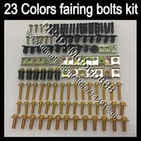 OEM Body Full Bolts Kit för Honda CBR929RR 00 01 CBR900RR CBR 929 RR 900RR CBR929 RR 2000 2001 GP122 Fairing Nuttrar Skruvbultskruvar Mutter Kit