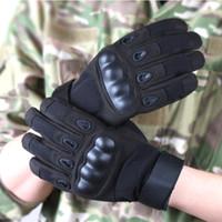 Importato super-fibra di nylon guanti tattici Tutto si riferisce al fitness all'aperto guanti di guida Protezione nocche guanti antiscivolo