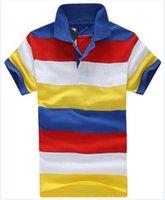 남성의 무지개 스트라이프 폴로 셔츠 유럽 남성 폴로 빠른 건조 짧은 소매 100 % 코튼 T 셔츠 의류 유니폼 골프 테니스 스포츠 티