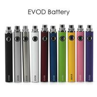 Classic EVOD Battery E Cigarette Batteries 510 Vape Pen Fit Various Atomizers 650mAh 900mAh 1100mAh High Quality
