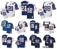 Retro Forması # 88 Michael Irvin 22 Emmitt Smith 8 Troy Aikman 12 Roger Staubach 33 Tony Dorsett Deion Sanders 75th Yıldönümü MN Football