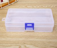 Klar Kunststoff Aufbewahrungsbox Container Werkzeuge Fall Schraube Nähen PP Boxen Transparente Komponente Schraube Schmuckschatulle SN2266