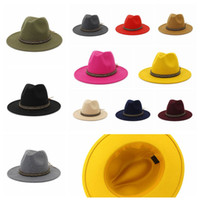 Womens Mens Crystal Diamond Woven Fedoras Hats Wide Brim Out...