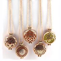 Ангел бола духи Аромат диффузор медальон 33 мм ожерелье солнце цветок кулон медь магнитные духи медальон светящиеся войлочные колодки