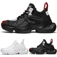 높은 품질 플랫폼 shop01 운동화 TYPE6 부드러운 흰색 검은 색 빨간색 레이스 쿠션 젊은 남성 소년 신발 디자이너 트레이너 스포츠 운동화 실행