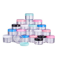 10g 15g 20g Empty Cosmetic Container Plastic Jar Pot Eyeshad...