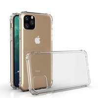 Nice Clear Shockproof Acrylic Hybrid Armor soft airbag Phone Cases for iPhone 13 12 11 Pro XS Max XR 8 7 6 Plus Samsung S21 S20 Note20 Ultra A72 A52 A32 A12 Redmi Huawei