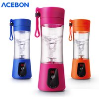 380ml portable blender usb mixer electric juicer machine smoothie blender processor personal cup juice