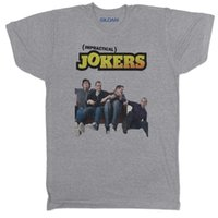 Impressionabile Jokers USA 00s Mens Cult Classic TV Film Movie GRAY T Shirt jersey Stampa t-shirt Camicie di marca jeans Stampa