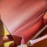 M62361 Розали монета кошелек мини-клатч с коротким кошельки женщины компактный бумажник клатч карты держатель экзотической кожи Эмили Сара викторина кошелек