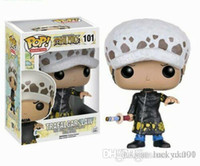 Funko chanceux pop ONE PIECE 10cm poupée LAW TRAFALGAR Figurine Toy poupées en vinyle