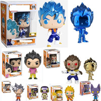 Funko pop Dragon Ball Super Vegeta Electroplating Gold Amine...