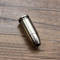 التيتانيوم tc4 تي edc مفتاح المظلة الحبل الخرزة زيبر رئيس قلادة الحبل أداة 30x11 ملليمتر حفرة قطرها 5.5 ملليمتر