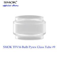 100% оригинал SMOK Tfv16 лампа Pyrex стеклянная трубка #9 с емкостью 9 мл сок предназначен для SMOK Tfv16 танк