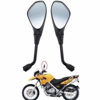 Универсальный мотоцикл заднего вида 10мм боковое заднее зеркало для BMW F650GS F800R Aprilia Ducati Suzuki