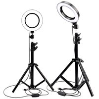 LED Ring Light Photo Studio Camera Light Photography Dimmabl...