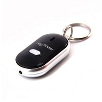 Wireless Whistle Key Finder Schlüsselbund Für Frauen Männer Anti-Lost Device Keyrings Elektronische Anti-Theft Ellipse Plastic Key Search