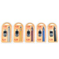 Law Preheat Battery Blister Charger Kit 1100mah PreHeat O Pen Bud Touch battery 510 thread pre-heat battery fit CE3 G2 G5 Cartridges