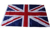 Poliéster UK Nation Flags 3 * 5 FT Bandeira dos fornecimentos da bandeira de Reino Unido clássico poliéster Inglaterra bandeira Bandeiras novo partido