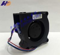 Delta BFB0512LD 5020 5CM 12V üç telli türbin santrifüj fan projektör fanı