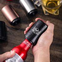 Bottiglia automatico apri della birra magnetico portatile Bar attrezzo apri del vino acciaio inossidabile vetro soda Cap Openers LJJO7975