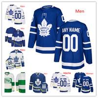 d12e56038e3 Custom Men Women Toronto St. Pats Toronto Maple Leafs Jersey Mitch Marner  John Tavares Morgan Rielly Auston Matthews Kapanen Hainsey Marleau