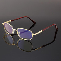 Metal Full frame Golden presbyopic glasses women men reading...