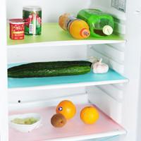 4 adettakım Buzdolabı Dondurucu Mat Dolap Çekmece Paspaslar Yalıtımlı Placemat Buzdolabı Bin Anti-kirlenme Anti Don Su Geçirmez Ped VT1357