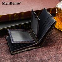 MenBense новый мужской бизнес случайный короткий пункт бумажник три раза мешок разнообразие случайных моды короткий пункт бумажник