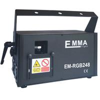 Vendita calda 3000 MW RGB 3 W Full Color DMX ILDA SD Lazer Animazione Luci Laser Stage DJ in vendita