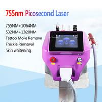 Elevata qualità ND YAG PICOSECOND Pigment Rimozione della macchina Laser macchina 1064nm 532nm 755mm Pico Laser ANCE Rimozione della pelle ringiovanimento della pelle Rejuvenation Clinic Uso