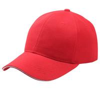 color de la tapa sólida sombrero hip hop ajustable Negro y sombrero blanco masculina y femenina del alpinismo Gorras Béisbol S-NUEVO