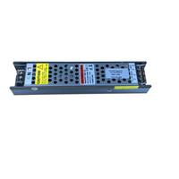 Tira de luz LED conductor regulable 0-10V TRIAC 1 en 2 60W 100W AC 100V-240V a 24V DC 12V Switching Power Supply funda de aluminio