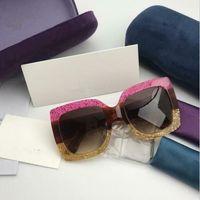 0083 Moda Güneş Gözlüğü Lüks kadın Moda Marka Tasarımcısı 0083 S Kare Yaz Tarzı Tam Kare Yüksek Kaliteli Ultraviyole Koruma