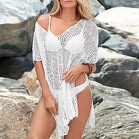 Abito Sexy Beach donne indossano maglia di pizzo Nuoto Cover Up 2019 nuova vendita calda sexy della spiaggia di estate veste femme mujer ropa elegante