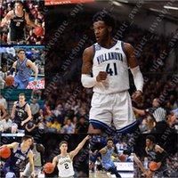 맞춤형 Villanova Wildcats 농구 저지 브랜든 슬레이터 Dhamir Cosby-Roundtree Bryan Antoine Chris Arcidiacoon Tim Saunders Kevin Hoehn