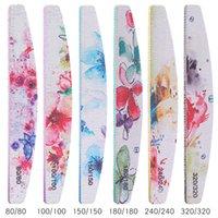 Профессиональный файл для ногтей Цветок для ногтей Польский блок Шлифовальный гвоздь Art Pedicure Tools Salon Sander аксессуар