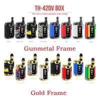 100% Original Kangviape Th-420 V Box Kit 800mAh Pré-aqueça Bateria 0.5ml Espessura Tanque de Cartucho Cerâmico Tanque Th420 Mod 3
