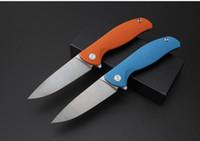 высокое качество Shirogorov D2 лезвие ножа плавника G10 ручка 58-60HRC Складной нож кемпинга выживания ножа 1шт Admi