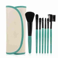 Makeup Brushes Set Tools Make- up Toiletry Kit Wool Brand Mak...