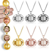 Magie 4 Pendentif photo mémoire flottant Médaillon Collier Ailes d'ange flash Fashion Box album Box Colliers