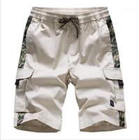 Lüks Tasarımcı Pantolon Erkekler Spor Casual Plaj Kargo Şort Gevşek Diz Boyu Pantolon Yaz Erkek 2020