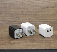 Classic Single Port 5V 1A Mobile Phone Charger US Plug Wall ...