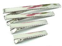 35mm / 41mm / 46mm / 56mm / 77mm / DIY Metall einzelne Zinke-Alligatorhaar-Klipp-Haarnadel Korker Bogen-Haar-Werkzeug-Großverkauf A189