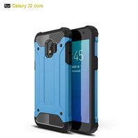 Rugged Dual Layer Shockproof Armor Case for Samsung J2 Core ...