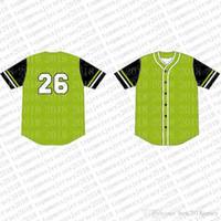 Top Custom Baseball Jerseys Mens Broderie Logos Jersey Livraison Gratuite Vente en gros de tout nom Taille Nombre M-XXL 67