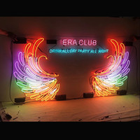 Custom Personalised Own Design Big Wing LED Neon Bar Sign fl...